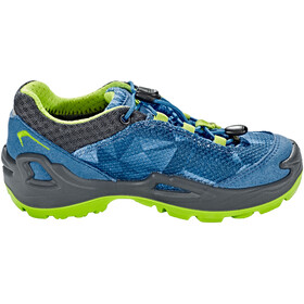 Lowa Ticino GTX - Chaussures Enfant - gris/turquoise